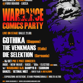 Poster Wardance Comics Party 2011