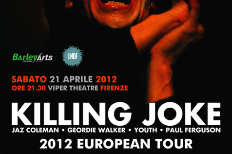 Flyer Killing Joke w/ The Crying Spell + The Icarus Line live