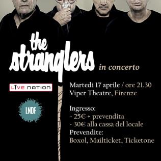 Flyer The Stranglers live