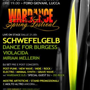 Poster Wardance Spring Festival 2012